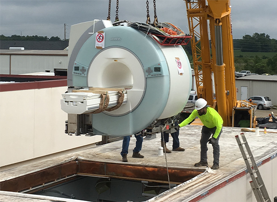 Fixed Base MRI Construction