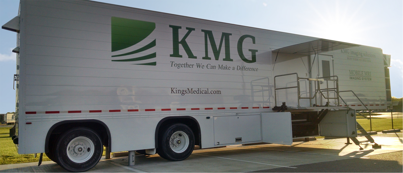 KMG Interim Mobile Solutions Trailer