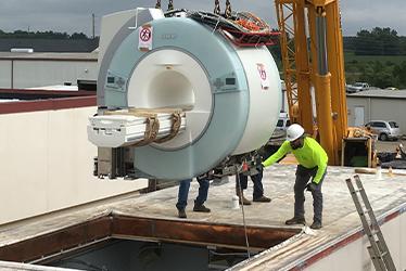 MRI Modular Equipment Construction