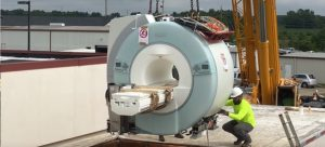 Removal of Old MRI System