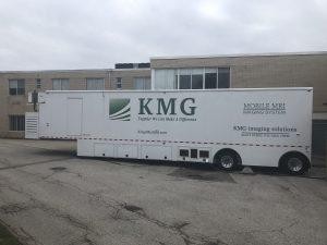 Mobile MRI trailer